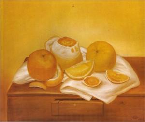 orange - Botero
